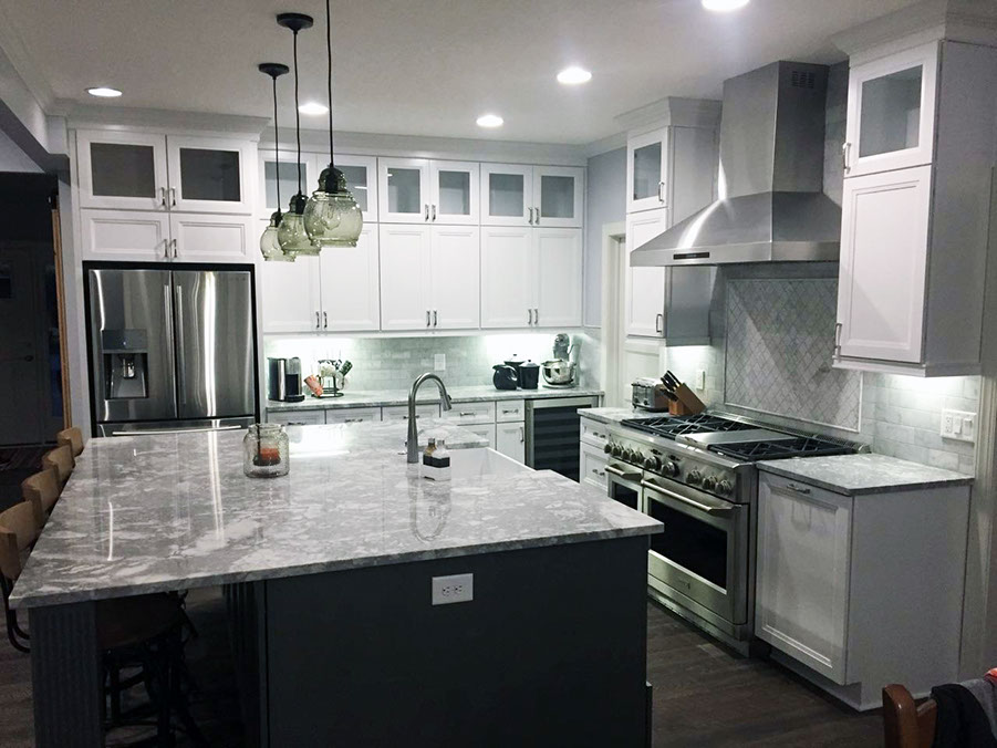 August Custom Kitchen Designs Of The Month Carter