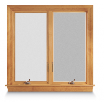 Andersen 400 series 2 panel casement window carter lumber for Andersen 400 series prices