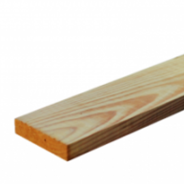 1 X 4 Above Ground Micronized Copper Azole Treated Lumber