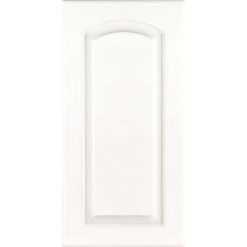 Kraftmaid Arched Raised - Thermofoil - White Cabinets FWR ...