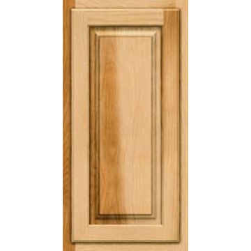Kraftmaid Square Raised Solid Hickory Natural Cabinets