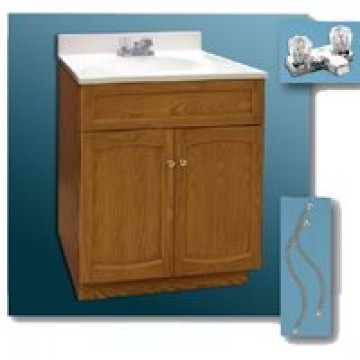 Foremost Groups Inc 24x18oak Vanity Propack Combo Carter
