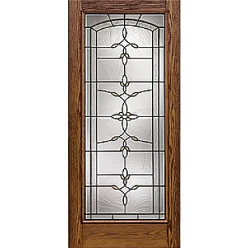 Therma tru cc111b oak entry door at carter lumber carter for Therma tru fiberglass entry doors prices