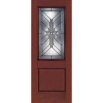 Therma tru ccr820025 rustic collection entry door at for Therma tru fiberglass entry doors prices