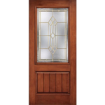 Therma tru ccr20528 rustic collection entry door at carter for Therma tru fiberglass entry doors prices
