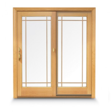 Andersen 400 Series Frenchwood Gliding Patio Door Carter