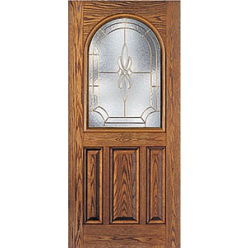 Therma tru cc36 oak entry door at carter lumber carter for Therma tru fiberglass entry doors prices