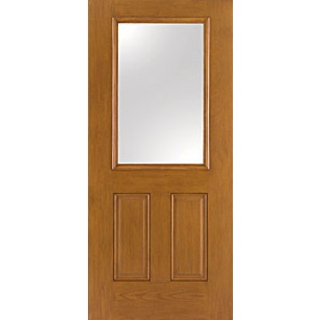 Therma Tru Fc62 Oak Entry Door At Carter Lumber Carter