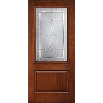 Therma tru ccr20023 rustic collection entry door at carter for Therma tru fiberglass entry doors prices