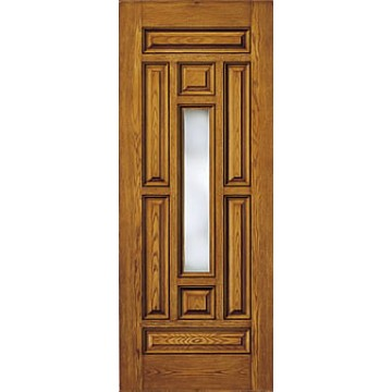 Therma Tru Cc811 Oak Entry Door At Carter Lumber Carter