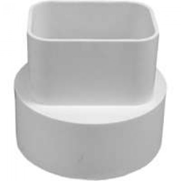 Genova Products Inc 2x3x4styrene Downspout Adapter