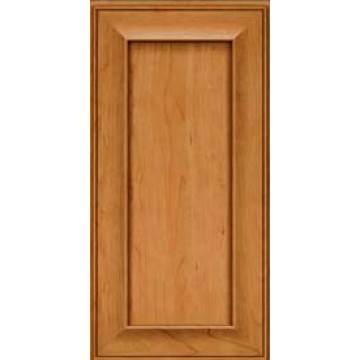 Kraftmaid Square Recessed - Solid Cherry -Natural Cabinets ...