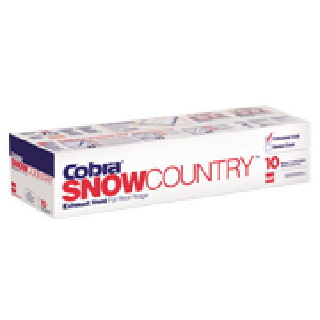 Cobra(R) Snow Country(TM) Exhaust Vent for Roof Ridge