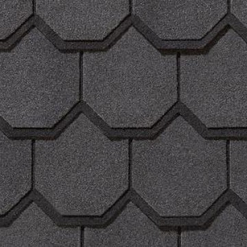 Certainteed Carriage House Luxury Shingles Black Pearl