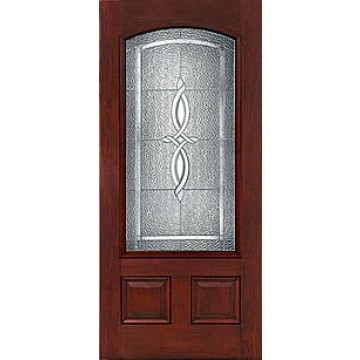 Therma tru ccm303 mahogany collection entry door at carter for Therma tru entry door prices