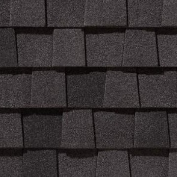 Certainteed Landmark Tl Luxury Shingles Moire Black