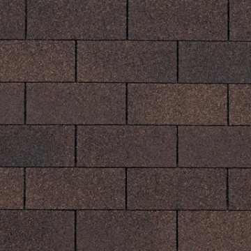 Owens Corning Supreme Three Tab Shingles Brownwood