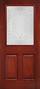 Therma Tru Ccm611 Mahogany Collection Entry Door At Carter