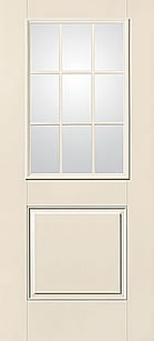 Therma tru s6022 smooth star entry door at carter lumber for Therma tru fiberglass entry doors prices