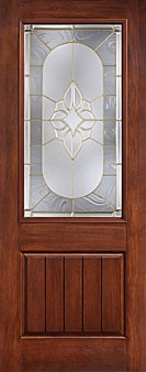 Therma tru ccr820529 rustic collection entry door at for Therma tru fiberglass entry doors prices