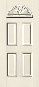 Therma tru s454 smooth star entry door at carter lumber for Therma tru fiberglass entry doors prices
