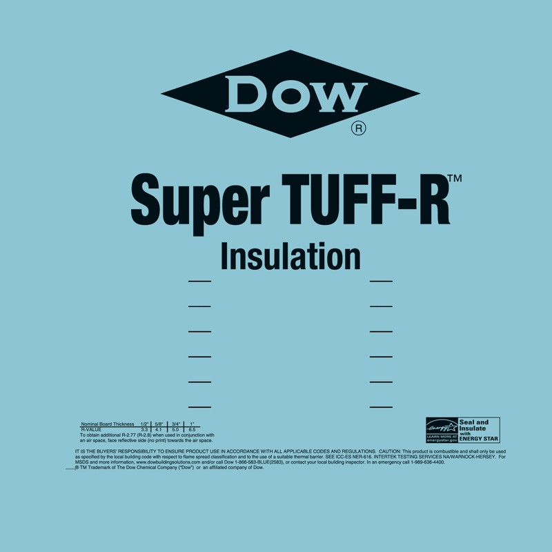 Super Tuff R Insulation 4 X 8 R4 1 Carter Lumber