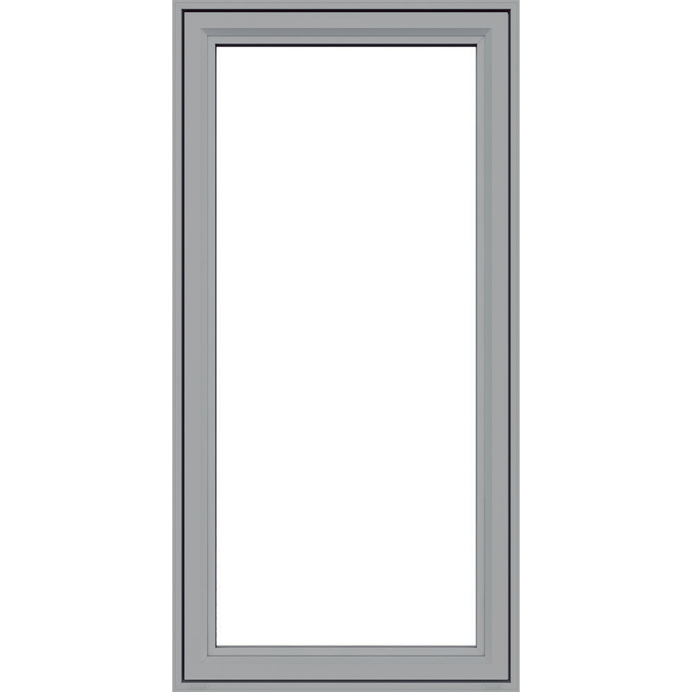 Jeld wen premium vinyl casement windows artic silver for Vinyl casement windows