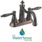 4In Lav Faucet 2Hdl Bronze