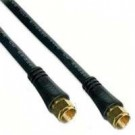 25Ft Rg6 Coax Cable Black