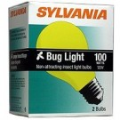 60W A19 Yellow Bug Light 2Pk