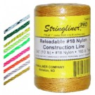 Twine 500Ft Braid Fluor Orange