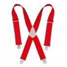 Hd Web Suspender Red
