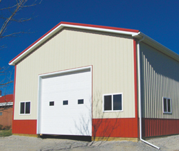 Pole barn cost estimator pricing calculator carter lumber for Garage building material calculator