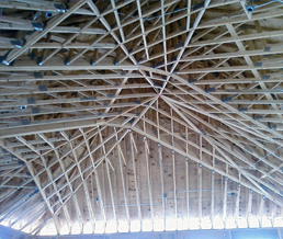 Start your next building with a price estimate on trusses for Truss cost estimate