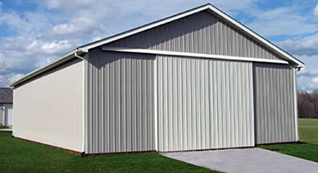 Agricultural pole barns to store equipment and more