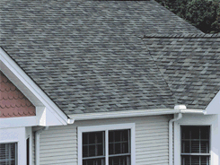 Asphalt shingles and roofing products
