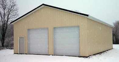 Garages carter lumber for Carter lumber pole barn kits