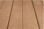 Composite decking by Carter Lumber