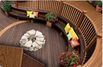 Composite railing decking by Carter Lumber