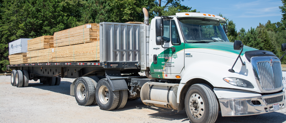 Carter Lumber Delivery