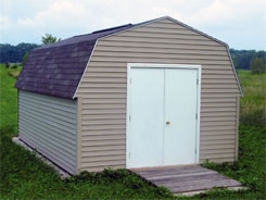 Estate garden storage sheds