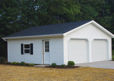 Compare custom garages at Carter Lumber