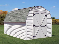 Liberty convenient storage sheds