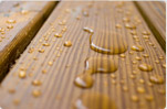 Treated lumber decking and deck projects