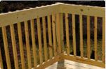 Treated railing decking projects